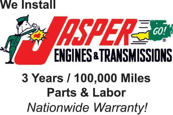 Jasper engines with nationwide warranty logo